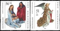 Tyskland - Julen 2002 - Postfrisk sæt 2v