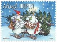 Åland Islands - Christmas 2010 - Mint stamp
