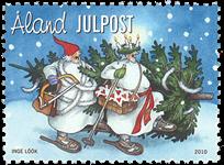 Åland - Julen 2010 - Postfrisk frimærke