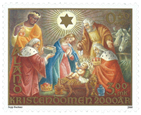 Åland - Christianity - Mint stamp