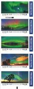 Sverige - Nordlys - Postfrisk hæfte