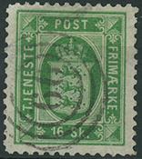 Danmark - Tjeneste - 1871