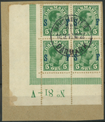 Danmark - Soldatermærker - 1917