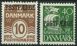 Danmark - Postfærge - 1930
