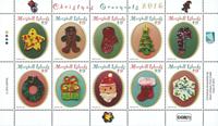 Marshall Øerne - Julen 2016 - Postfrisk sæt 10v