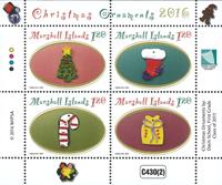 Marshall Øerne - Julen 2016 - Postfrisk miniark