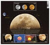 Belgien - Supermåne - Postfrisk miniark