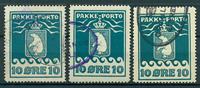 Grønland - Pakkeporto 7 - 1915