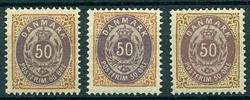 Danmark - AFA 30B - 1895