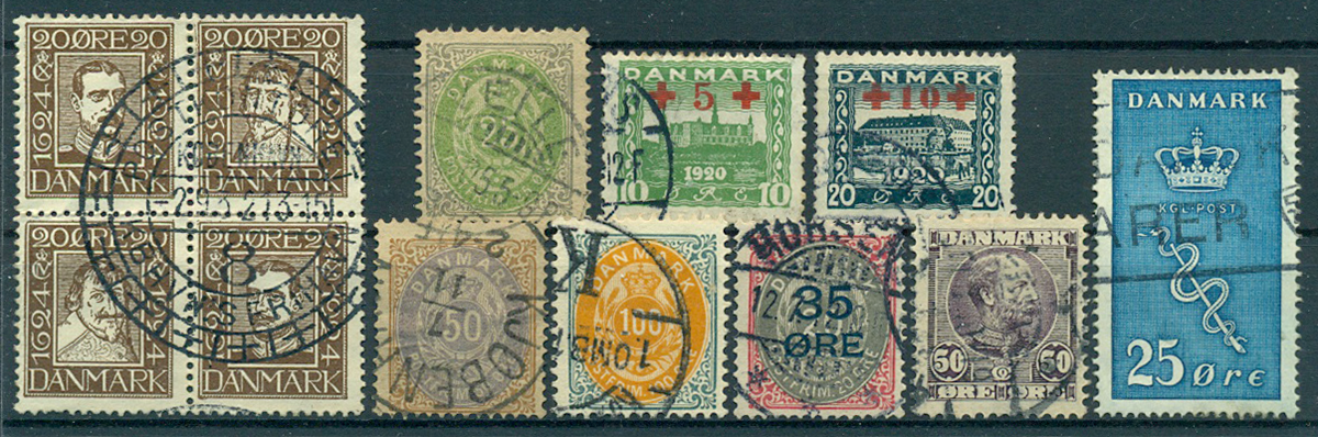 Danmark - Samling - 1854-1977