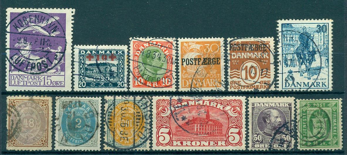 Danmark - Samling - 1852-1979
