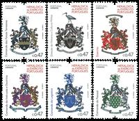 Portugal - Våbenskjold 2016 * - Postfrisk sæt 6v