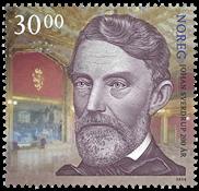 Norway - Johan Sverdrup - Mint stamp