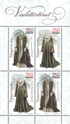 Ungarn - Historiske klædedragter - Postfrisk miniark