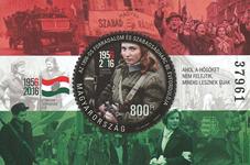 Ungarn - 1956-2016 - Postfrisk miniark