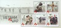 Australia - Vietnam war - Mint souvenir sheet