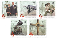 Australia - Wietnam war - Mint set 5v