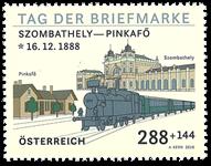 Østrig - Frimærkets dag - Postfrisk frimærke