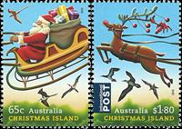 Christmas Islands - Christmas 2016 - Mint set 2v