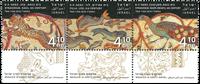 Israel  - Mosaikker - Postfrisk sæt 3v
