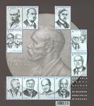 Belgien - Nobel - Postfrisk ark