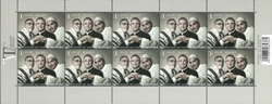 Belgien - Tolerance - Postfrisk ark