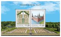 Danmark - Frederiksborg Slot - Postfrisk miniark