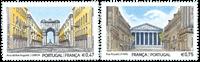 Portugal - Fællesudgave med Frankrig - Postfrisk sæt 2v