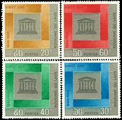 Laos 1966 - YT 138-41 - Mint