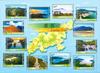 Hong Kong - Vandreruter Lantau Trail - Postfrisk ark