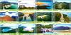 Hong Kong - Vandreruter Lantau Trail - Postfrisk sæt 12v