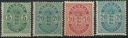 Danmark - 1882-85