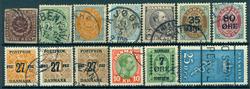 Danmark - 1852-1929