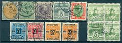 Danmark - 1875-1937