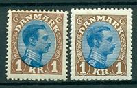 Danmark - 1922