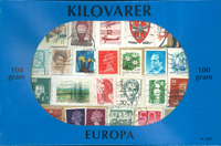 Europa - kilowaar postzegelmix 100 gr