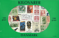 Denmark - Kiloware / Stamp mixture - 100 g (3.50 oz)