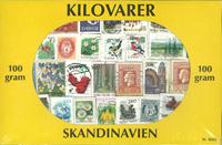 Scandinavie - Timbres au kilo mixtes - 100 gr.
