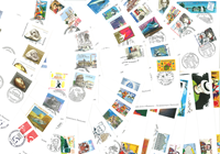France - Packet with 200 first day covers