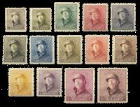Belgia 1919 - OBP 165-178 - Käyttämätön