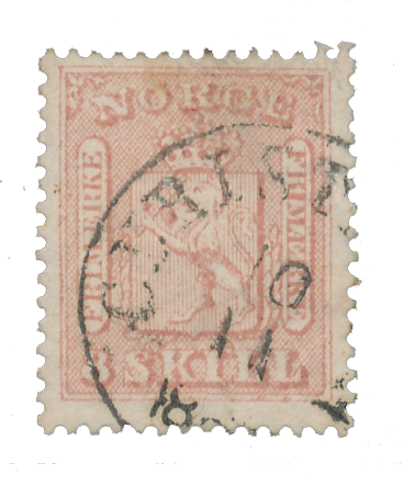 Norge 1863-66 - AFA 9 - Stemplet
