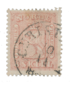 Norway 1863-66 - AFA 9 - Cancelled