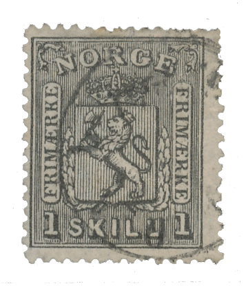 Norge 1867-68 - AFA 11 - Stemplet