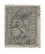 Norway 1867-68 - AFA 11 - Cancelled