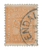 Norway 1867-68 - AFA 12 - Cancelled