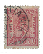 Norway 1867-68 - AFA 15 - Cancelled