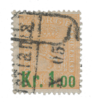 Norge 1905 - AFA 62 - Stemplet