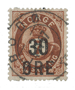 Norway 1906 - AFA 65 - Cancelled