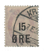 Norway 1908 - AFA 70 - Cancelled
