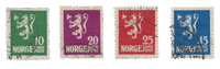 Norway 1922-24 - AFA 103/06 - Cancelled